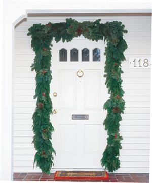 Door Garland & Door Garland | Christmas Farms
